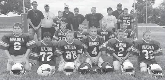 Osmond and Wausa youth form football teams