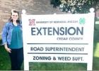 Hanefeldt helps expand services at Cedar County Extension