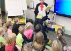 The Randolph Elementary School is celebrating Read Across America Week with Dr. Seuss.